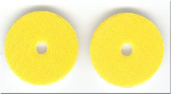Pads for Polishing DVD - Yellow - ZDAG 101 Simo Disc Repair Machine