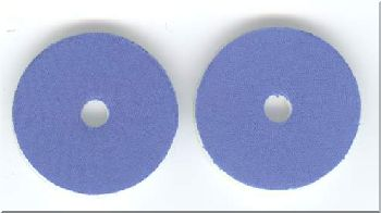 Pads for Polishing DVD - Blue - ZDAG 101 Simo Disc Repair Machine